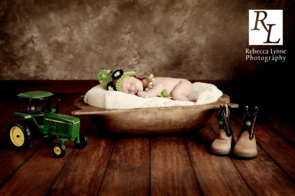 Newborn Boy Farmer