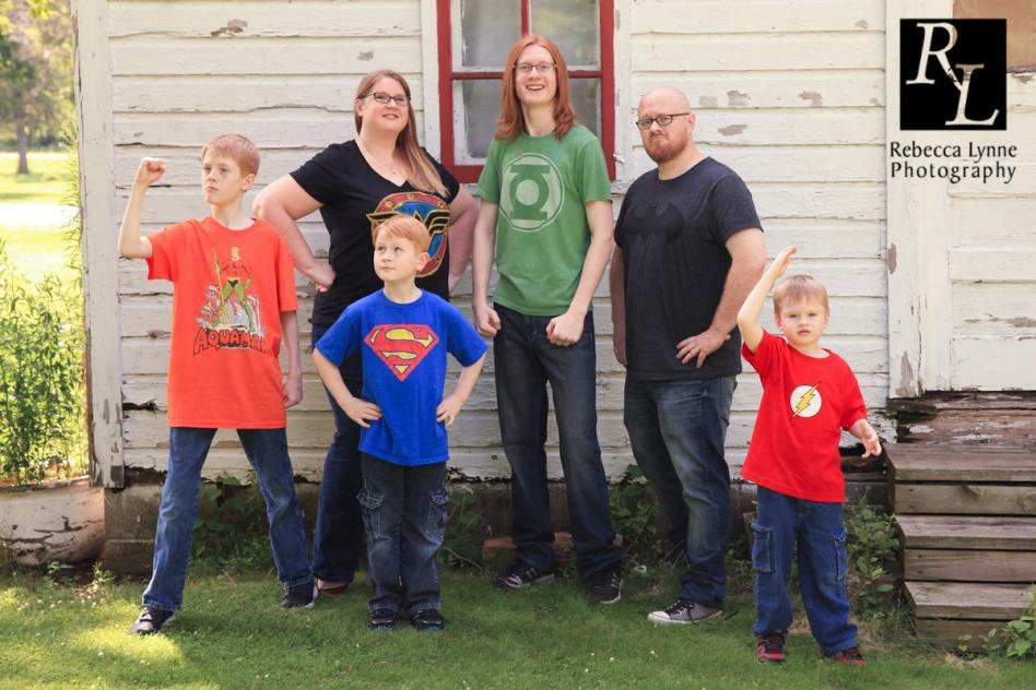 Superhero Family
