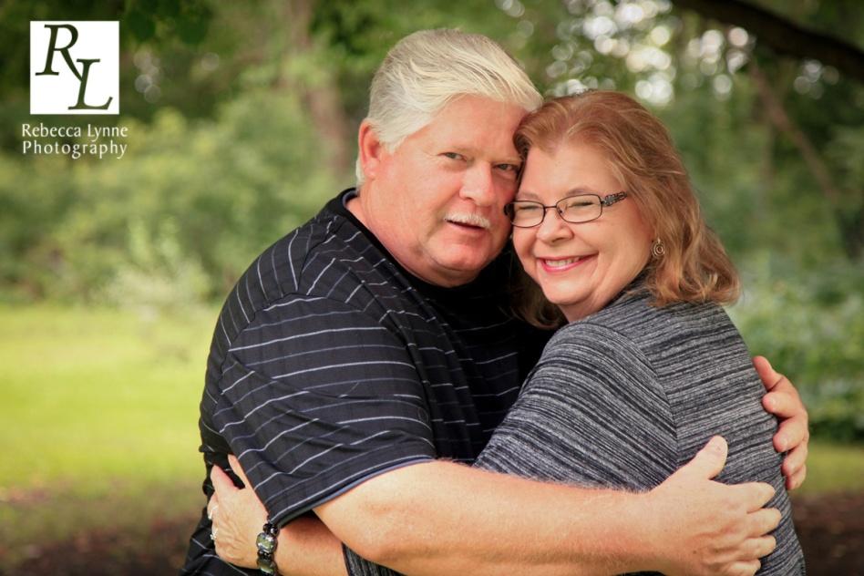 Husband Wife Embrace