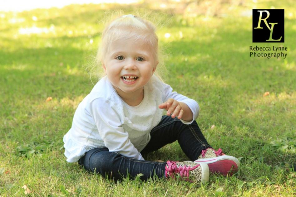 Little girl in Grass