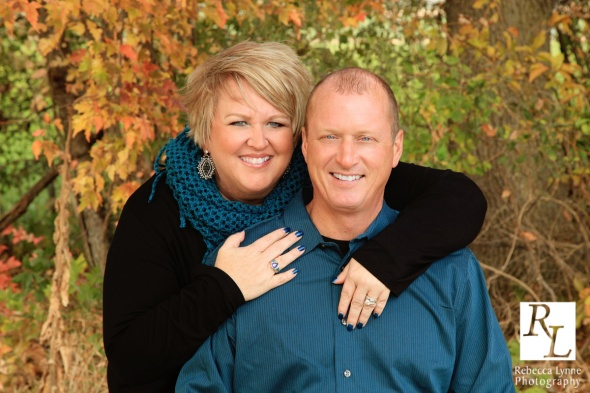 Fall Family Portrait Couple