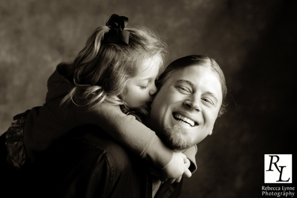 father daughter portrait