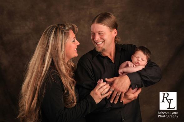 Newborn boy portraits