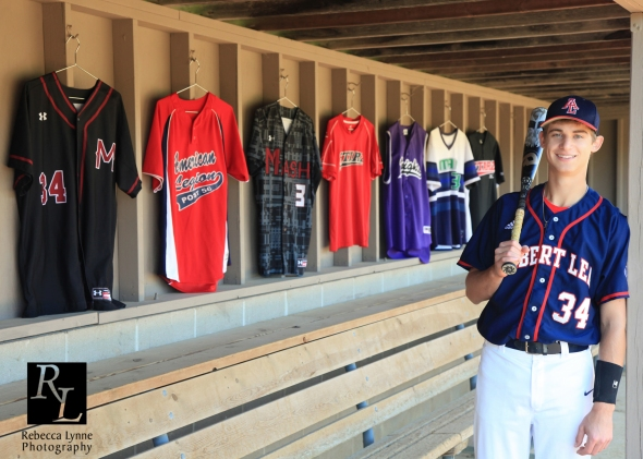 High School Senior Guy baseball jerseys