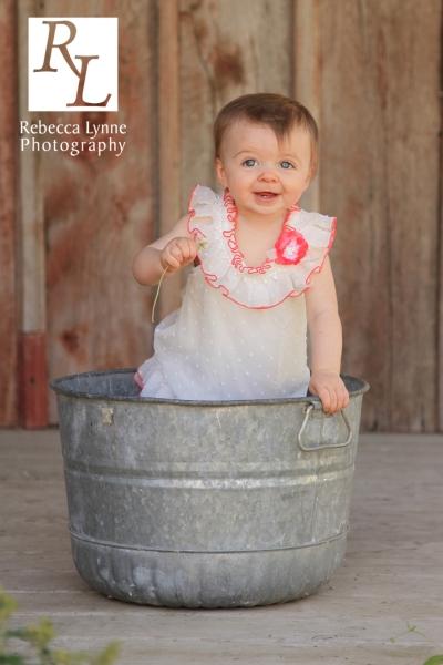 baby girl one year photos