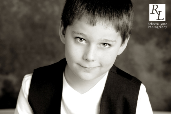 Child portrait boy classic