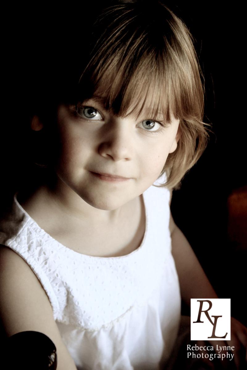 Child portrait girl classic